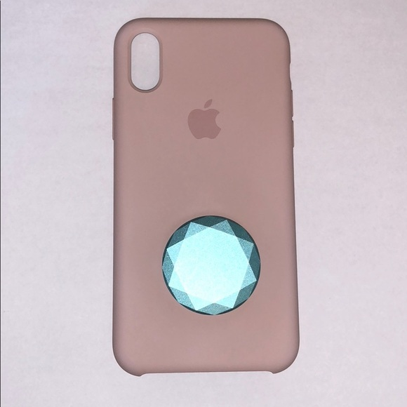 best service 3e570 17844 IPhone X case with PopSocket